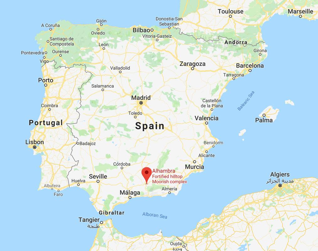 Map Of Spain Granada.The 36 Best Castles In Spain With Photos Maps Practical Infos