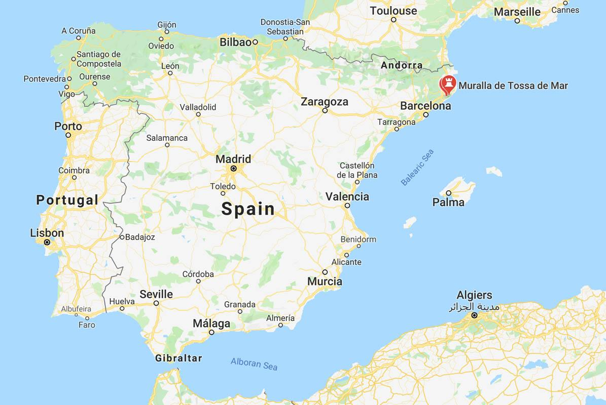 The 36 BEST Castles in Spain (with Photos, Maps & Practical ... Maps Of Alcazaba Malaga on cathedral of malaga, festival malaga, costa del sol spain malaga,