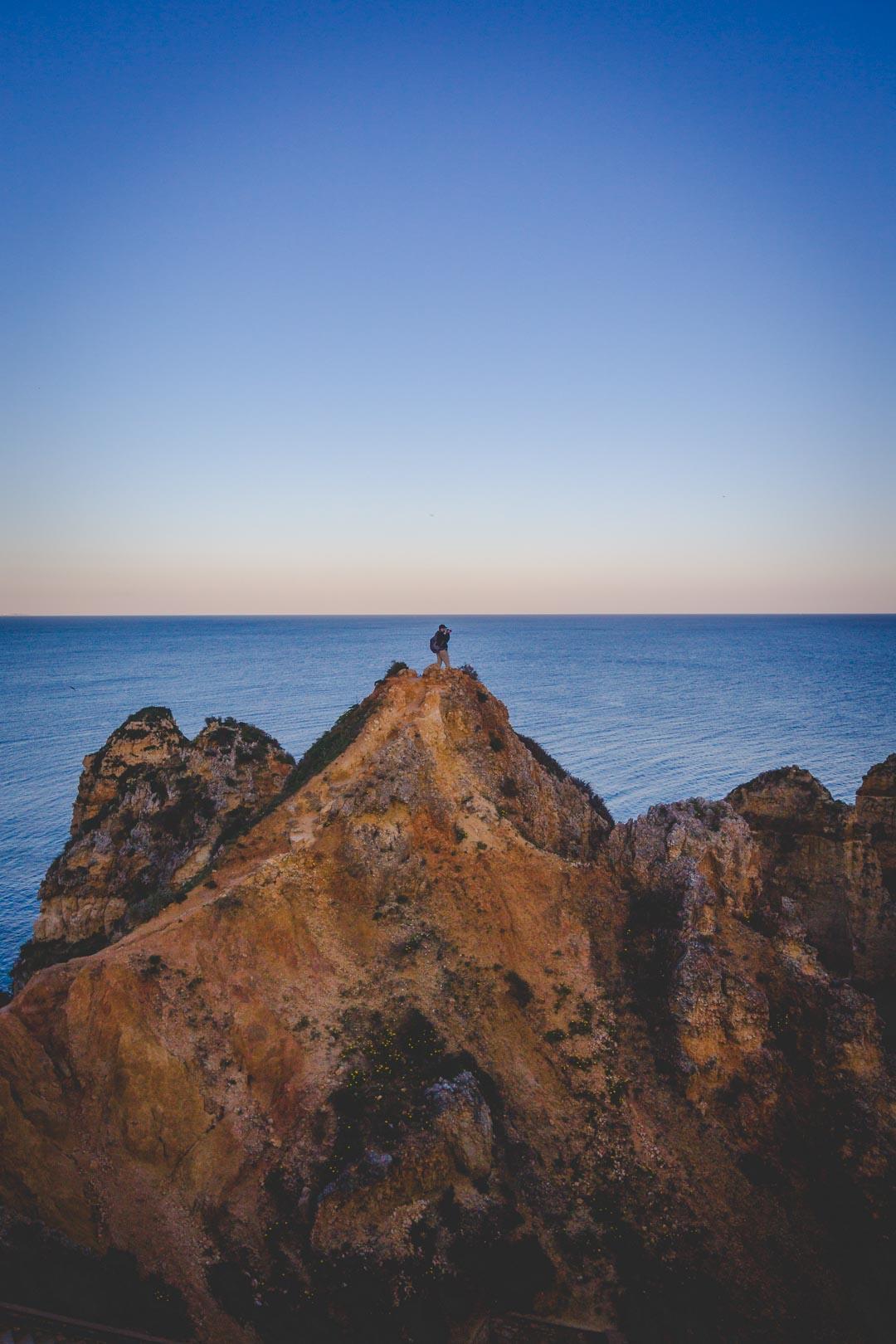 Ponta Da Piedade Epic Rock Formations In Algarve Portugal