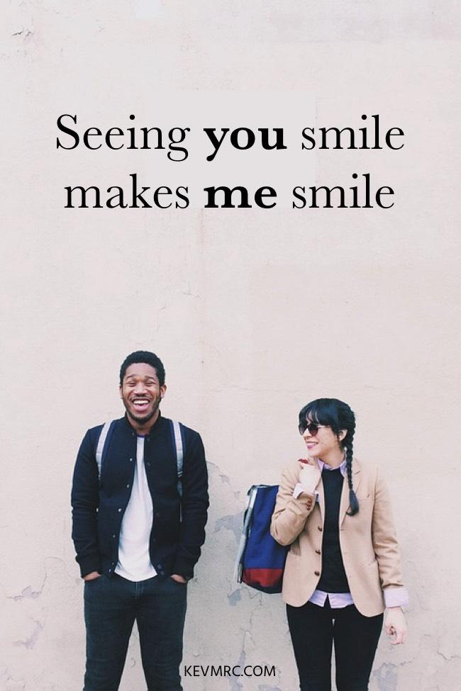 Make smile to messages her 100 Cute