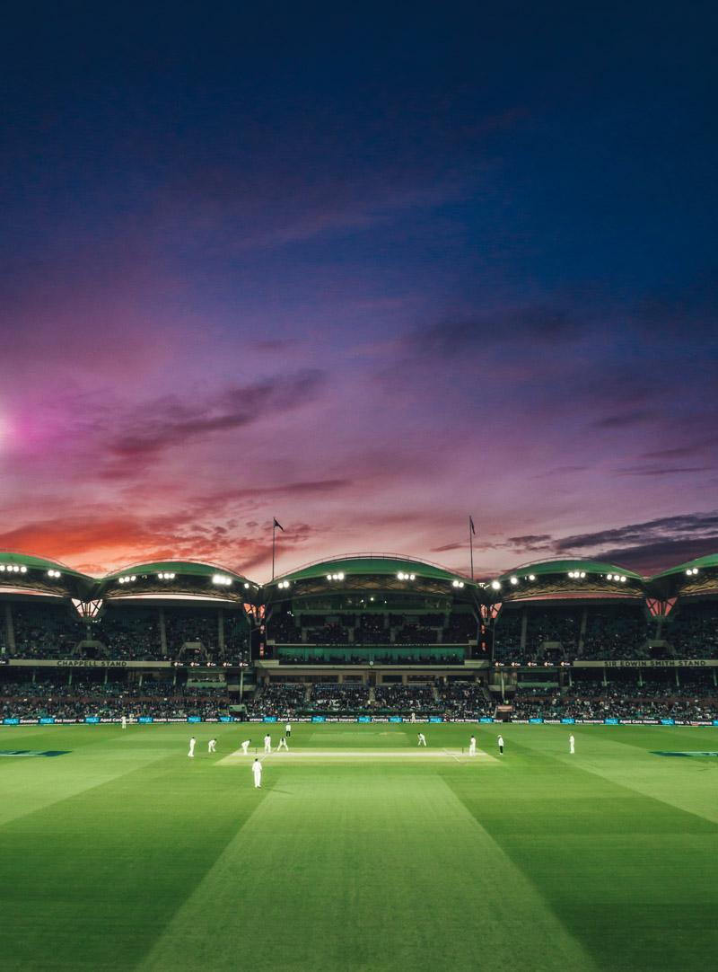 adelaide oval is onen of the most famous landmarks south australia has to offer
