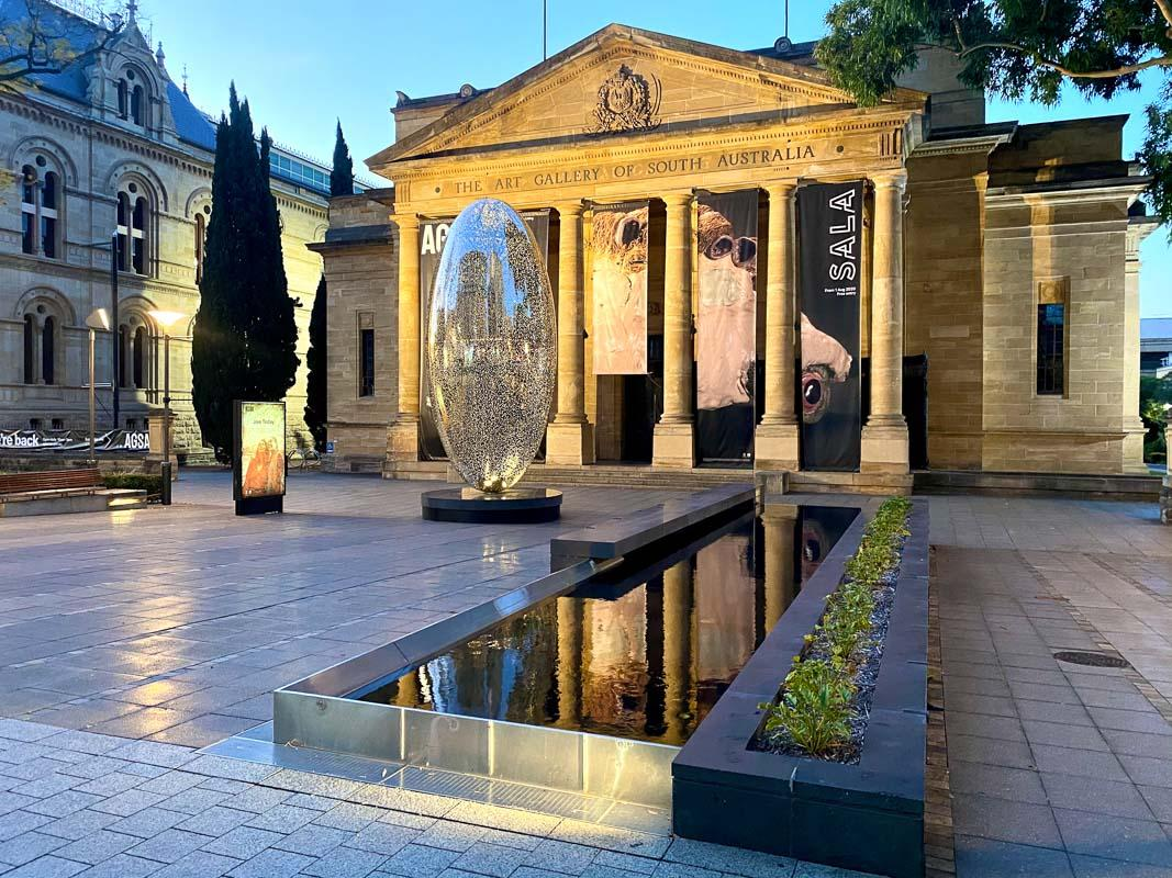 art gallery of south australia is one of the best constructed attractions in south australia