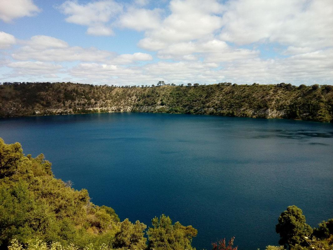 mt gambier blue lake is one of the top landmarks of south australia
